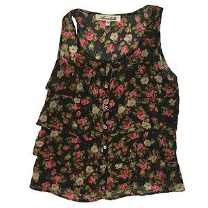 Annabelle Floral Top Size S